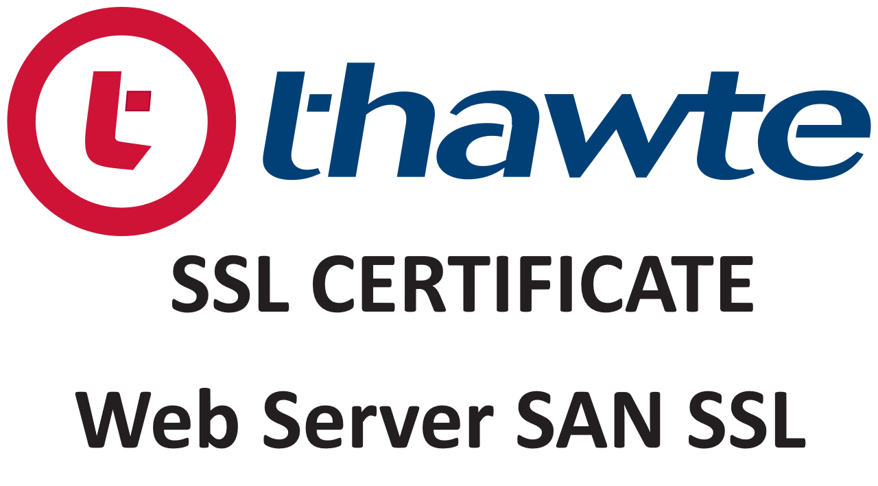 SSL сертификат Thawte SSL Web Server with EV